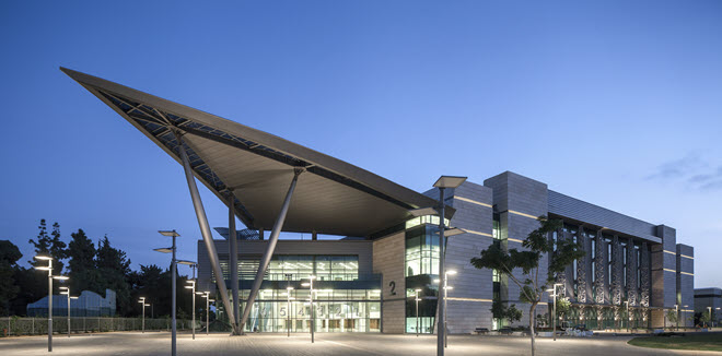 Израильский центр ярмарок где пройдет Гранд Финал Евровидения 2019