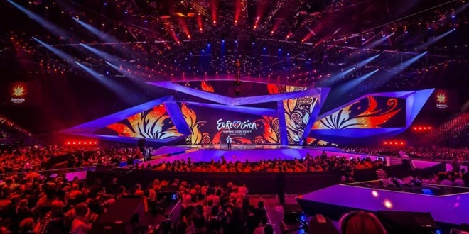 Сцена Eurovision 2012 Baku