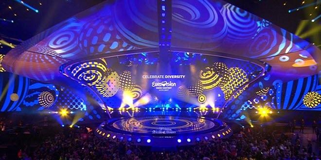 Сцена Eurovision 2017 Kyiv
