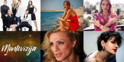 5 претендентов от Черногории на Евровидение 2019