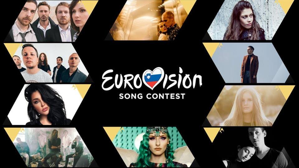 RTVSLO (Словения) опубликовала фрагменты 10 песен для участия на Евровидении 2019