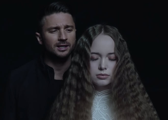 Кадр из клипа Сергея Лазарева Scream
