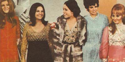 Четыре победителя на Евровидении 1969 в Мадриде