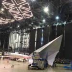 Начался монтаж сцены Евровидения 2019