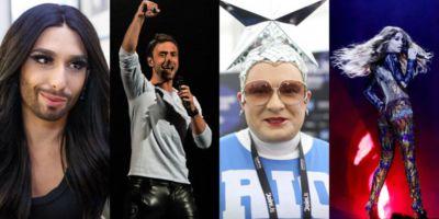 Артисты на разогреве финала Евровидения 2019