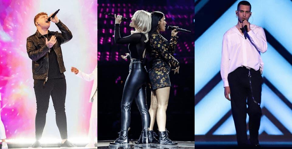 Выступление Германии, Италии и Великобритании во 2-м полуфинале Евровидения 2019