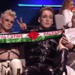 Исландская группа Хатари выступили с поддержкой Палестины