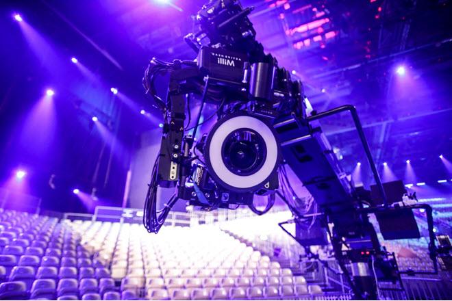 Камеры для Евровидения