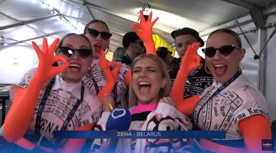 Первая реакция победителей полуфинала Евровидения