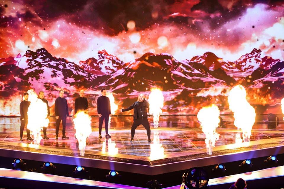 Пиро на сцене Евровидения 2019