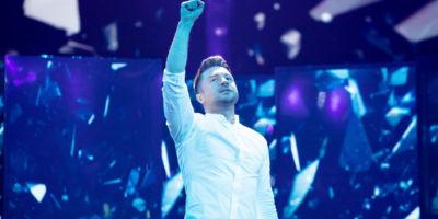 Стало известно под каким номером выступит Сергей Лазарев в финале Евровидения