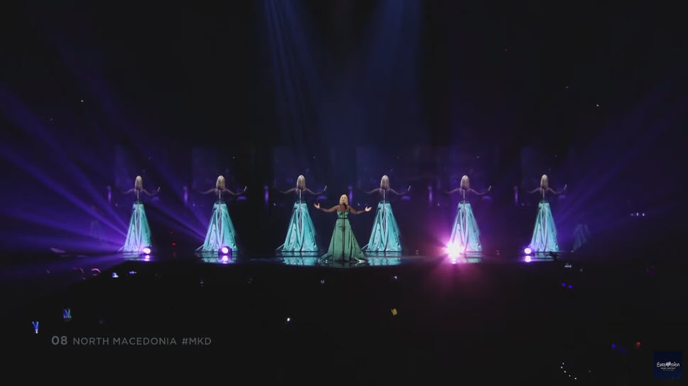 North Macedonia - LIVE - Tamara Todevksa - Proud - Grand Final - Eurovision 2019