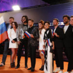 Sergey Lazarev's Team Russia arrives on the Orange Carpet