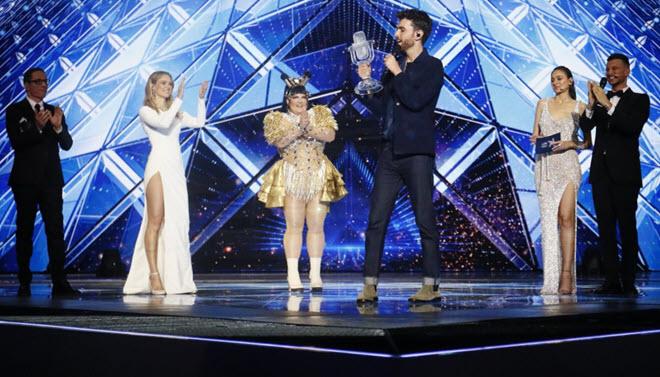Данкан Лоуренс выиграл песенный конкурс Евровидение-2019 для Нидерландов