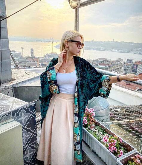 Саманта Тина в инстаграм