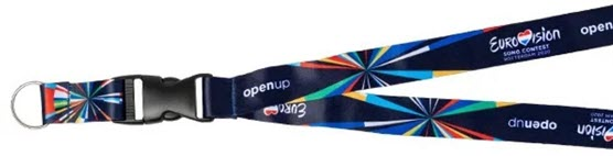 An 'Open Up' Lanyard