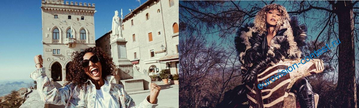 Senhit представит Сан-Марино на конкурсе песни Евровидение 2021