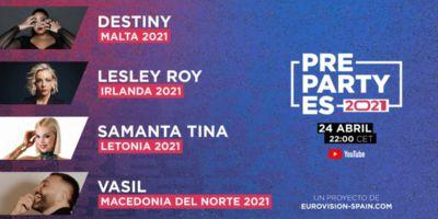 Подтверждено больше артистов на PrePartyES 2021