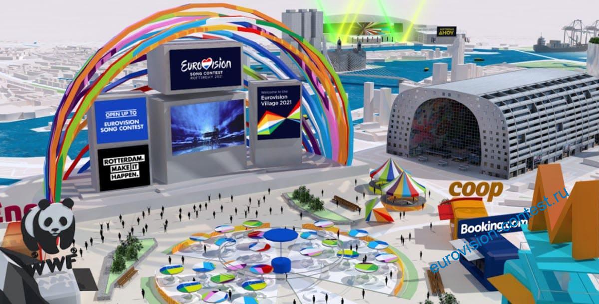 Вирутальная деревня Евровидения 2021