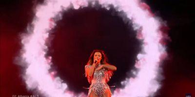 Выступление Албании в финале Евровидения 2021