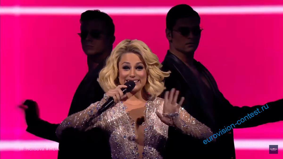 Выступление Натальи Гордиенко в финале Евровидения 2021 с песней Sugar