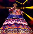 🇷🇺 Россия: Выступление Манижи в финале Евровидения 2021 с песней «Русская женщина»