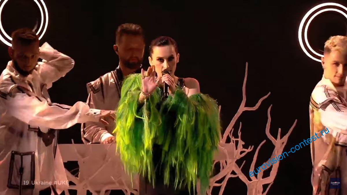 Выступление Украины в финале Евровидения 2021