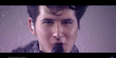 Выступление Gjon's Tears в финале Евровидения 2021 с песней Tout l'Univers