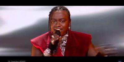 Выступление Tusse в финале Евровидения 2021 с песней Voices