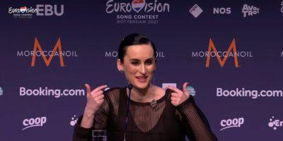 Пресс-конференция участников полуфинала Евровидения 2021