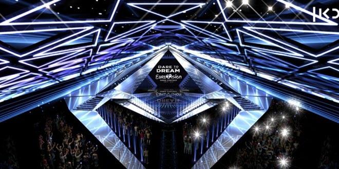 Сцена Евровидение 2019