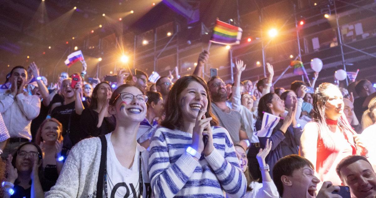 Фанаты на Евровидении 2019 2