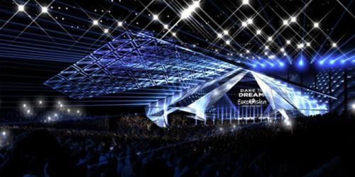 Сцена Евровидение 2019 фотография