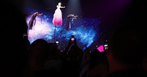 Fans enjoy the first Semi-Final of Eurovision 2019