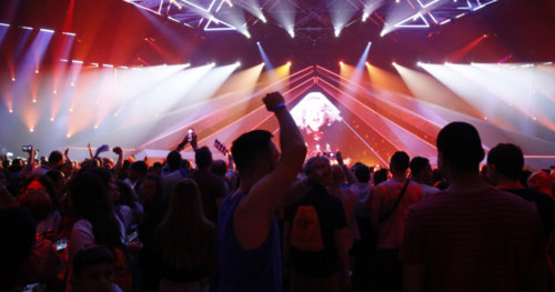Fans go wild as the first Semi-Final of Eurovision 2019 kicks off