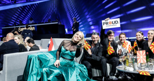 Greenroom Second Semi-Final 2019 Macedonia