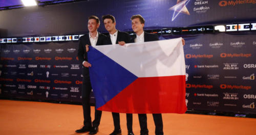 Lake Malawi (Czech Republic) arriving at the Orange Carpet