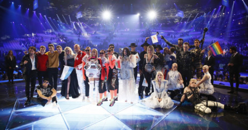 The 10 qualifiers of the first Semi-Final of the 2019 Eurovision Song Contest