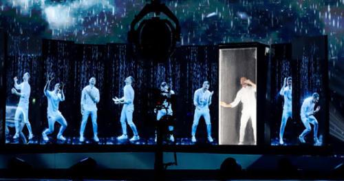 Фотографии с репетиции Лазарева в Тель-Авиве